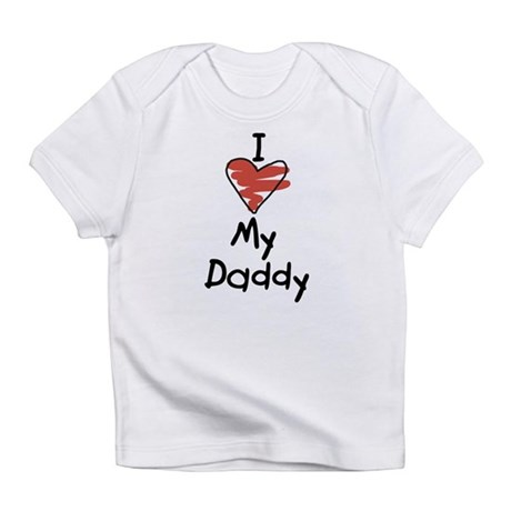 I Love My Daddy Creeper Infant T-Shirt