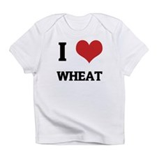 I Love Wheat Creeper Infant T-Shirt