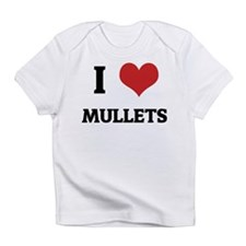 I Love Mullets Creeper Infant T-Shirt