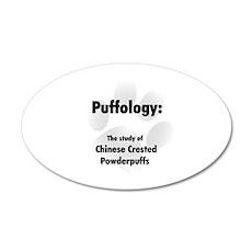 Puffology 35x21 Oval Wall Peel