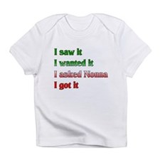 I Asked Nonna Infant T-Shirt