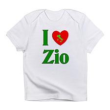 I Love (heart) Zio Infant T-Shirt