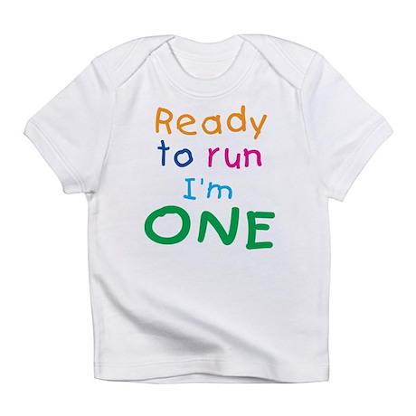 Ready to run I'm One Creeper Infant T-Shirt