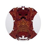 Royal Skull Ornament (Round)