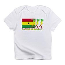Ghana soccer Creeper Infant T-Shirt