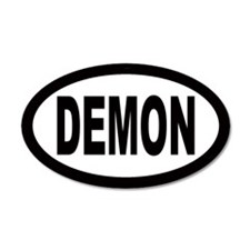 Demon 20x12 Oval Wall Peel