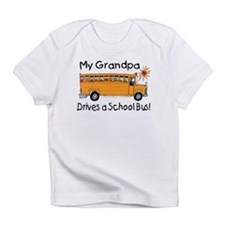 Grandpa Drives a Bus - Creeper Infant T-Shirt