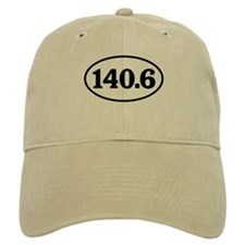 140.6 Triathlon Oval Baseball Cap