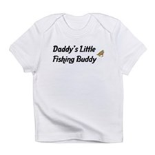 Daddy's Little Fishing Buddy Infant T-Shirt