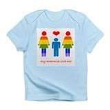 My Mommies Love Me (boy) Creeper Infant T-Shirt