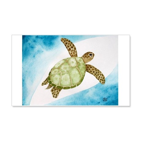 Sea Turtle 20x12 Wall Peel