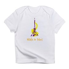 """""""Made in Paris"""" Creeper Infant T-Shirt"""