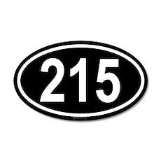 215 20x12 Oval Wall Peel