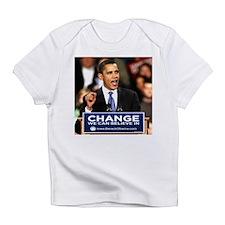 Obama Change Infant T-Shirt