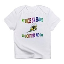 CHILD026-MY UNCLE A SEABEE Creeper Infant T-Shirt
