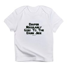 Diaper Regularly Goes To The Infant T-Shirt