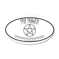 Phi Power 20x12 Oval Wall Peel