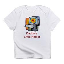 Daddy's Little Helper (Gamer) Creeper Infant T-Shi