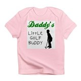 Dad's Golf Buddy Creeper Infant T-Shirt