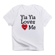 Yia Yia Loves Me Infant T-Shirt