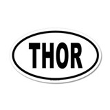 THOR 20x12 Oval Wall Peel