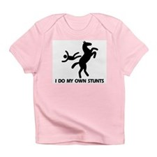 Rearing Horse 'Stunts' Infant T-Shirt