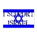 Support Israel 20x12 Wall Peel