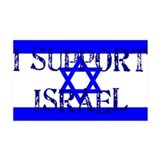 Support Israel 35x21 Wall Peel