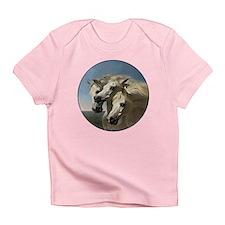 White Arabian Horses. Infant T-Shirt