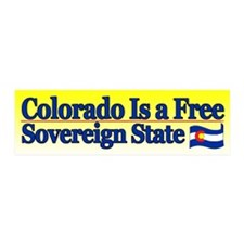 Colorado is Sovereign 20x6 Wall Peel