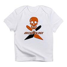 Skull & Crossed Trowels Infant T-Shirt