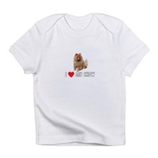 I Love My Chow Infant T-Shirt