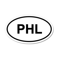 PHL 20x12 Oval Wall Peel