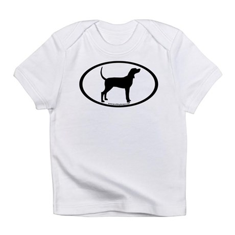 Coonhound #2 Oval Infant T-Shirt