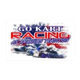 American Go Kart Racing 35x21 Wall Peel