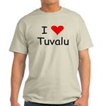 Ash Grey Tuvalu T-Shirt