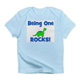 Being One Rocks! Dinosaur Infant T-Shirt