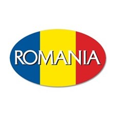 Romania 20x12 Oval Wall Peel
