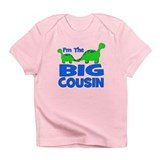 I'm The BIG Cousin! Dinosaur Infant T-Shirt