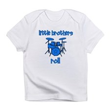 Little Brothers Roll DRUMS Infant T-Shirt