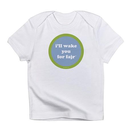 Fajr Creeper (light blue + green) Infant T-Shirt