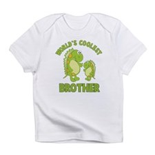 world's coolest brother dino Infant T-Shirt