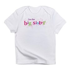 i'm the big sister shirt scatter Infant T-Shirt
