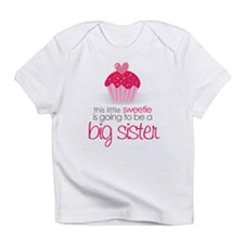 sweetie big sister shirt Infant T-Shirt