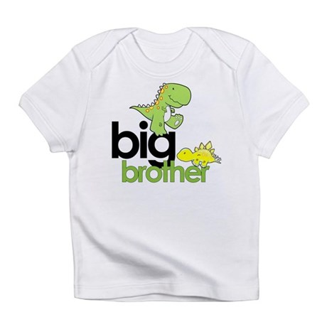 big brother dinosaur Infant T-Shirt