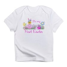 1st Easter Baby! Pink First Easter Infant T-Shirt