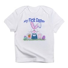 Boy first Easter Bunny! Infant T-Shirt