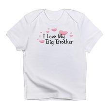 Love Big Brother Pink Hearts Babys Infant T-Shirt