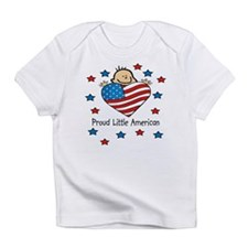 Proud American flag Baby/Toddlers Infant T-Shirt