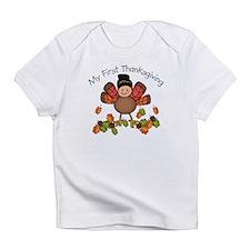 My First Thanksgiving TURKEY Infant T-Shirt